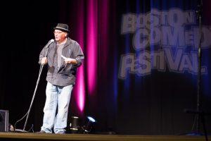Boston Comedian Jim McCue interviews incredible  Boston Comedian Tony V