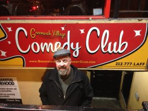 Doing Comedy in Greenwich Village Comedian Jim McCue