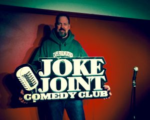 Boston Comedy in Saint Paul at the Joke Joint with Boston Funnyman Jim McCue