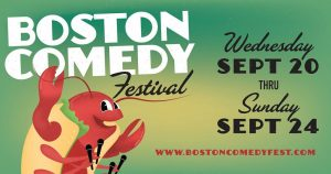 Boston Comedy scene buckle up for the dope show.