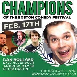 Champions of The Boston Comedy Festival