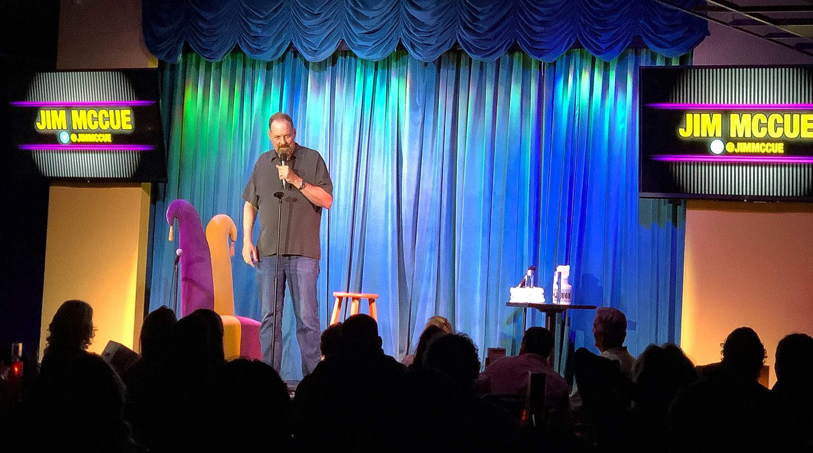 Jim McCue - Upcoming Shows